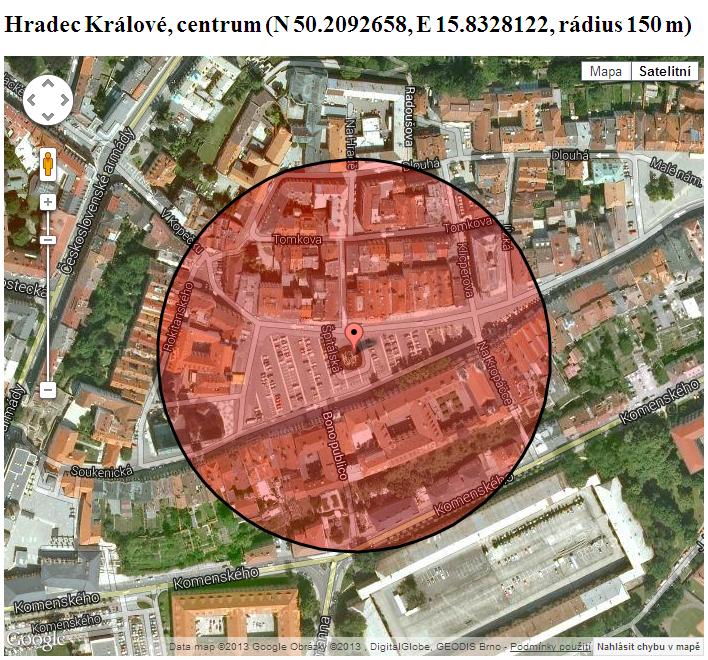 HK POI radius