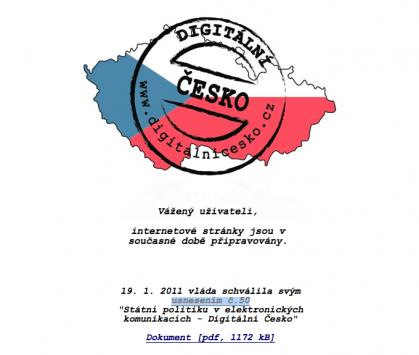 Web Digitální Česko