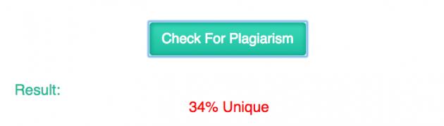 Kontrola plagiarismu