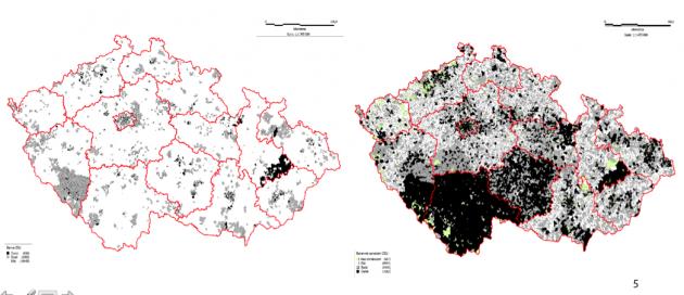 Původní mapa po veřejných konzultacích