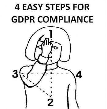 Jak být v souladu s GDPR ve čtyřech krocích!