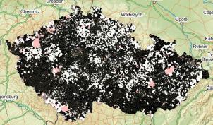 mapa bílých míst