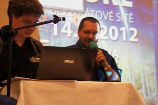 zleva Martin Pína a Martin Krug